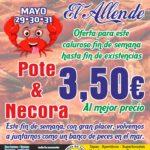 OFERTA NECORA & POTE 3.50€